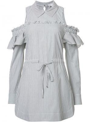 Платье-рубашка  Parker Rebecca Vallance. Цвет: чёрный