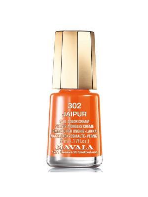 Лак для ногтей тон 302 Jaipur Mavala. Цвет: оранжевый