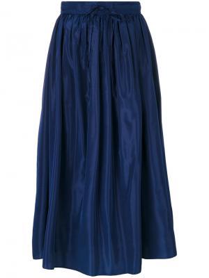 Пышная юбка Kenzo. Цвет: синий