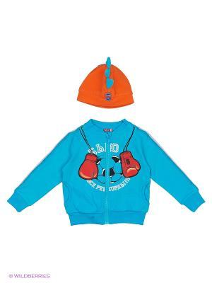 Комплект PELICAN. Цвет: голубой, оранжевый