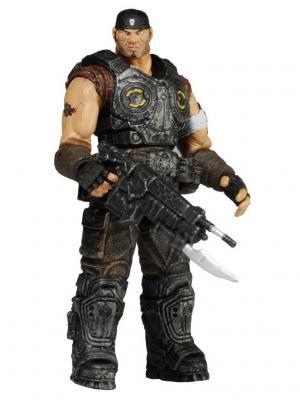 Фигурка Gears of War 3 3/4 Series 2 - Marcus Fenix /4шт Neca. Цвет: черный, антрацитовый