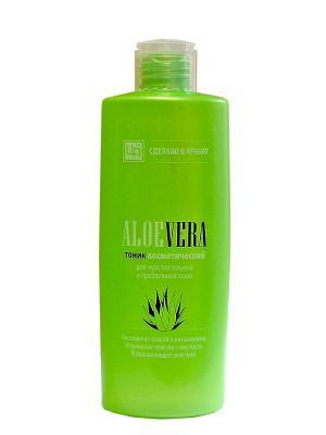 Тоник ALOE VERA для чувствительной и проблемной кожи Царство Ароматов. Цвет: зеленый