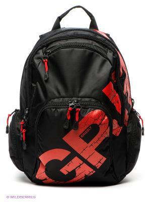 Рюкзак Grizzly. Цвет: черный, красный