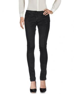Повседневные брюки AERONAUTICA MILITARE. Цвет: стальной серый