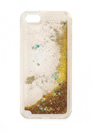 Чехол для iPhone New Case. Цвет: золотой