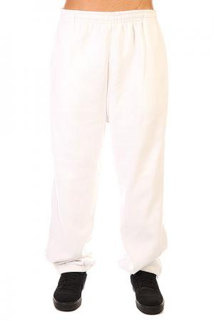 Штаны широкие  Sweatpants White Urban Classics. Цвет: белый