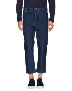 Джинсовые брюки ONTOUR. Цвет: синий