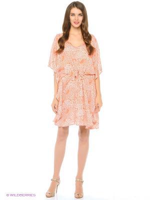Туника текстильная Vittorio Richi. Цвет: персиковый