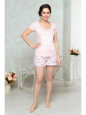 Пижама Mia Cara. Цвет: розовый