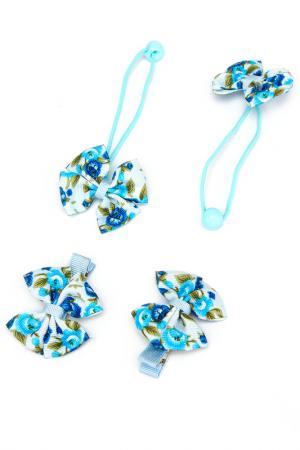 Набор NICE GIRL. Цвет: голубой, синий