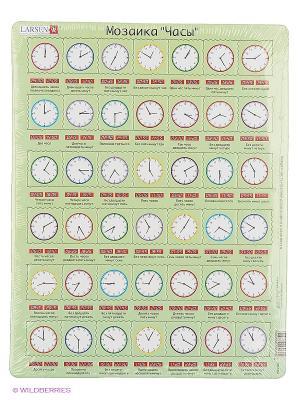 Пазлы Часы LARSEN AS. Цвет: светло-зеленый