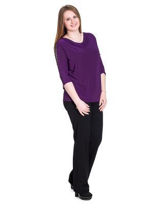 Блузка Trispa. Цвет: фиолетовый