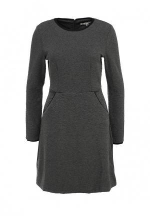 Платье Uttam Boutique. Цвет: серый