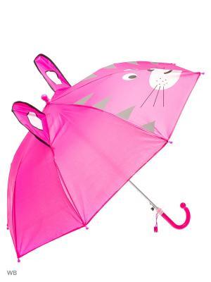Зонт Modis. Цвет: фиолетовый, белый