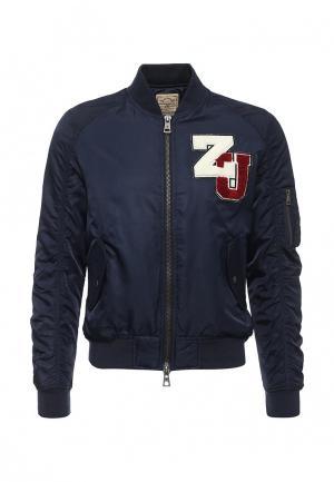 Куртка ZU Elements. Цвет: синий