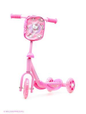 Самокат Hello Kitty Mondo. Цвет: розовый