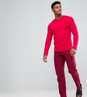 Calvin Klein Пижама с сумкой для хранения. Цвет: красный