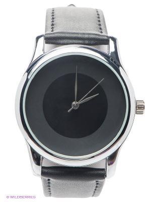Часы Mitya Veselkov. Цвет: черный, серебристый