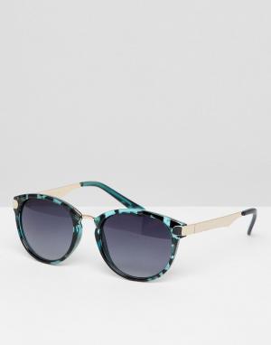7X Солнцезащитные очки. Цвет: зеленый