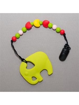 Игрушка-подвеска Краски лета. Цвет: салатовый, бледно-розовый, желтый, красный, светло-зеленый