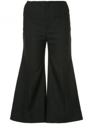 Укороченные расклешенные брюки Bobby Georgia Alice. Цвет: синий