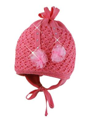 Шапка Grans. Цвет: розовый