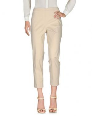 Повседневные брюки QL2 QUELLEDUE. Цвет: бежевый