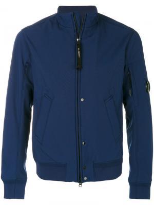 Куртка на молнии CP Company. Цвет: синий