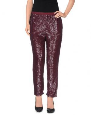 Повседневные брюки NC.2 Paris. Цвет: красно-коричневый