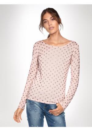Пуловер LINEA TESINI by Heine. Цвет: розовый