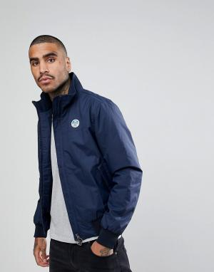 North Sails Темно-синяя куртка. Цвет: темно-синий