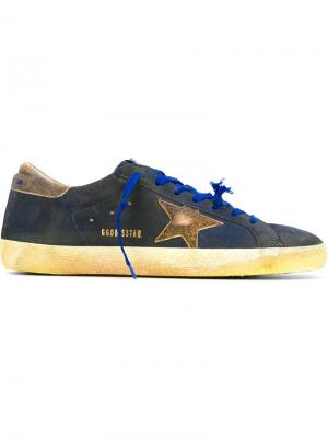 Кеды Super Star Golden Goose Deluxe Brand. Цвет: синий