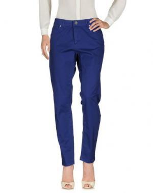 Повседневные брюки SWEET LOLA. Цвет: синий