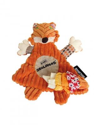 Игрушка Deglingos Лисичка Kitschos - Baby. Цвет: рыжий