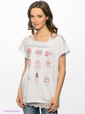 Комплект Maison espin. Цвет: бледно-розовый, белый, зеленый