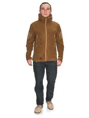 Куртка флисовая Obereg TACTICAL FROG. Цвет: светло-коричневый