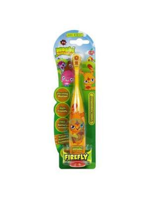 Детская зубная щетка DR.FRESH. Цвет: оранжевый