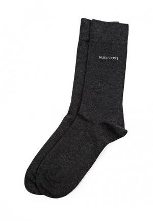 Комплект носков 2 пары Boss. Цвет: серый