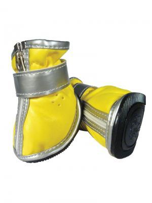 Ботинки для собак TRIOL. Цвет: желтый