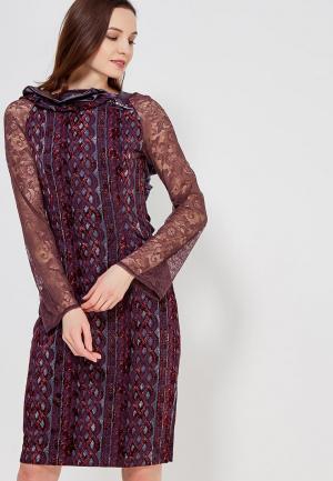 Платье Ано. Цвет: фиолетовый