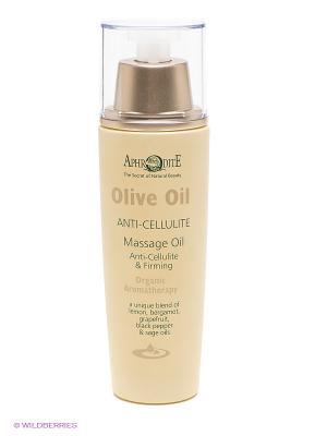 Антицеллюлитное масло для массажа Aphrodite, 100 мл Aphrodite. Цвет: бежевый