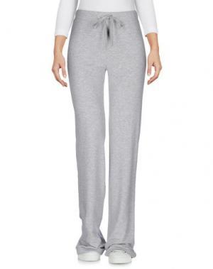 Повседневные брюки ROBERTA SCARPA. Цвет: светло-серый