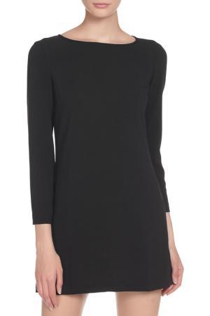 Короткое платье с рукавами American Apparel. Цвет: black