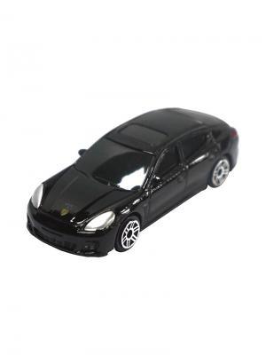 Машинка Porsche Panamera Turbo, Черная (1:64) (PS-344018S-BL) Pit Stop. Цвет: черный