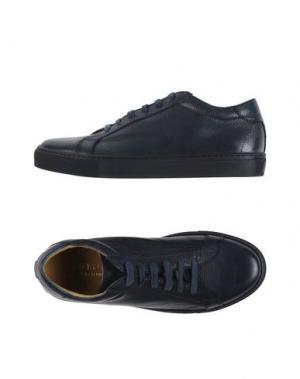 Низкие кеды и кроссовки CANTARELLI. Цвет: темно-синий