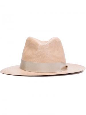 Шляпа панама Rag & Bone. Цвет: телесный