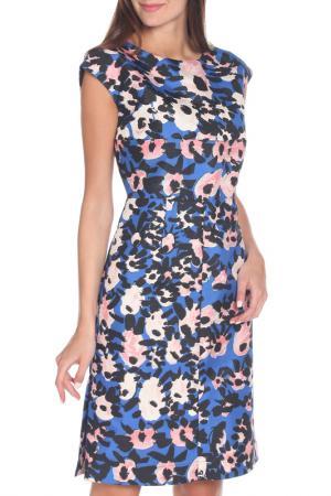 Платье Marni. Цвет: черный, синий