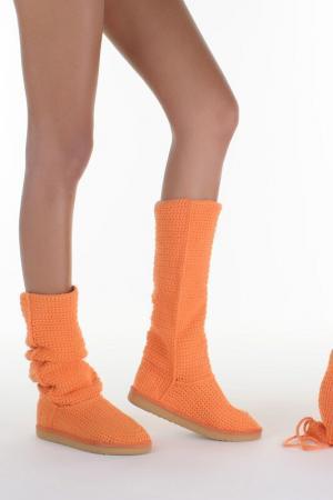 Сапоги Livs. Цвет: оранжевый