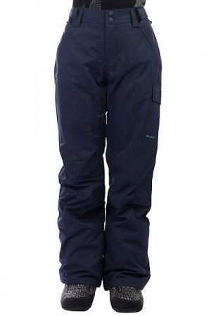 Штаны сноубордические женские  Yana Navy Billabong. Цвет: синий