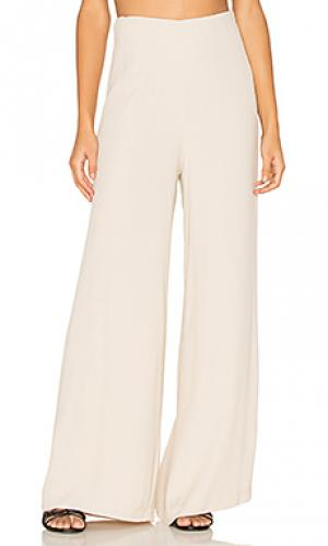 Waistless pants BLAQUE LABEL. Цвет: белый